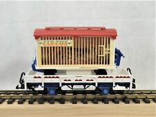 LGB 4038 - Low-Sided Circus Gondola with Cage Load