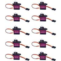 10X MG90S Metal Gear High Speed Micro Servo 9g für RC Plane Helicopter Boat Auto