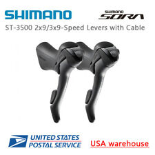 Shimano Sora ST-3500 2x9 3x9 speed Shift Brake Levers Set Right & Left w/Cable