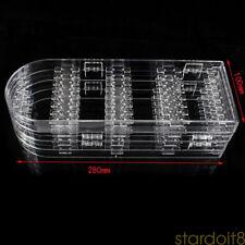 Acrylic 4 Folding Screen Stud Jewelry Earring Display Stand Holder Organiser