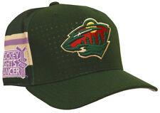 Minnesota Wild adidas Hockey Fights Cancer Flex Fit Hat L XL b3b84fd5b3ff