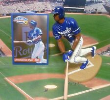 2001 Jermain Dye - Starting Lineup - Slu - Loose Figure & Card - Kansas City