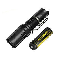 Nitecore MT10A Tactical Flashlight -XM-L2 U2 w/NL14500A Rechargeable Battery