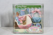 Rare! Discontinued Fisher Price Toys Briarberry Bears Baby Care Set New Package
