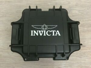 INVICTA Dive 1 Slot Black Plastic Collectors Watch Box Case