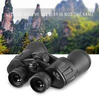 10X50 Zoom Day Night Vision Outdoor Travel Binoculars Hunting Telescope+Bag