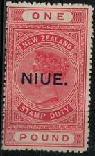 Niue 1923 SC 34 Mint SCV