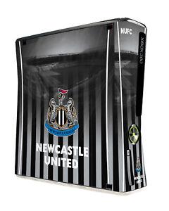Xbox 360 Slim Console Skin Sticker Newcastle Utd Football Club Official New