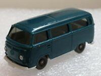 Wiking ( 315/2F ) - VW T2 Kombiwagen , ozeanblau   - T@P Zustand