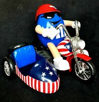 Limited Edition M & M's Freedom Rider Motorcycle With Side Car - No Box No Candy