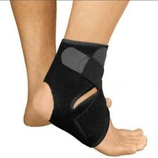 Outdoor Sports Compression Ankle Brace Support Stabilizer Elastic Foot Wrap JJ