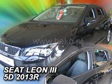 HEKO Windabweiser SEAT LEON III 5-türig ab 2013 4 teilig  28239