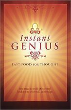 Instant Genius: Fast Food For Thought-ExLibrary