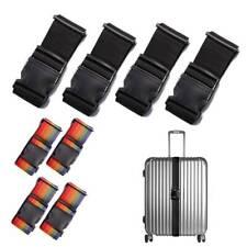 4 x Koffergurt Koffergürtel Kofferband Kofferriemen Reise Gepäck Gurt Tragegurt