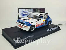 Team Slot SRE18 RENAULT 5 Turbo Eurocup 1984 Limited 1 of 250 Spanish Edition