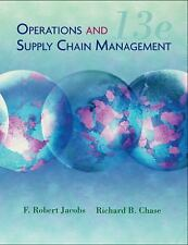 Operations and Supply Chain Management (The Mcgraw-Hill/Irwin Series), Jacobs, F