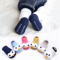 Newborn Baby Boy Girl Infant Toddler Cartoon Anti-Slip Cotton Floor Socks