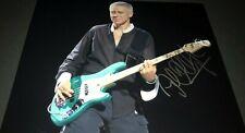 Adam Clayton U2 Bassist Signed 11x14 Autographed Photo Coa Proof