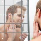 16 Piezas Extraíble Pared Espejos Baño Adhesivos De Moderno Decoración Hogar
