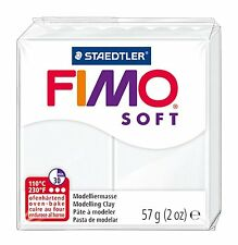 FIMO Soft Polymer Oven Modelling Clay - All 30 Colours - 57g - Buy 4 Get 1 Free
