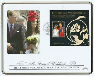CANOUAN 15 JUNE 2011 ROYAL WEDDING M/SHEET O/S VLE FIRST DAY COVER