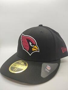 NFL Arizona Cardinals New Era 59 Fifty Low Profile Baseball Hat 7 3/8  Brand NEW