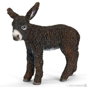 NEW SCHLEICH 13686 Poitou Donkey Foal - RETIRED