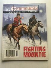 Commando Comic # 2994 Fighting Mountie