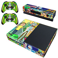 Regular Xbox one Kinect Controllers Cover Rick Morty Vinyl Decal Skin Stickers