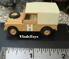 """Oxford Military 1/76 Series 1 Land Rover 88"""" canvas top Sand 76LAN188002"""