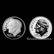 2018 S+S Roosevelt Dime Reverse Silver and Silver Proof from Mint Proof Set