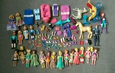 POLLY POCKET Huge Lot Dolls Rubber Clothing & Accessories + Other dolls