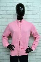 Felpa Donna CHAMPION Taglia L Pullover Cardigan Sweatshirt Maglione Rosa Woman