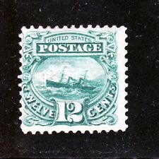 US 117 12c S.S. Adriatic Mint Fine OG H SCV $1,850