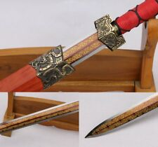 Han Dynasty Sword Traditional Hand Forged High manganese steel Sharp Edge #4650