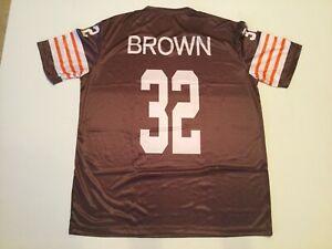 Jim Brown Interlock Sublimation Shirt - S, M, L, XL, 2XL, 3XL
