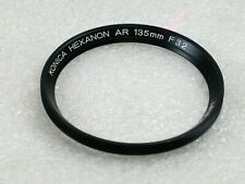 Konica Hexanon AR 135mm F3.2 Front Ring Spare Part, New Old Stock, Part No. 7951
