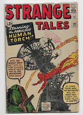 Strange Tales #101 Marvel Silver Age Comic 1962 Kirby Cover 1st Solo Human Torch