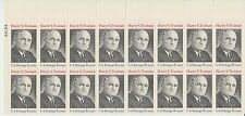 block of 16 PRESIDENT HARRY TRUMAN stamps - Scott #1499  MNH 1973 8c USA OG USPS