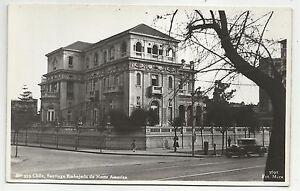 POSTCARD-CHILE-SANTIAGO-RP. Embajada de Norte America.