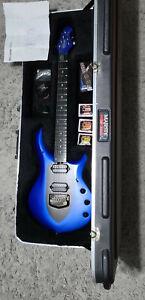 Ernie Ball Music Man John Petrucci Majesty Guitar - Siberian Sapphire Blue OHSC
