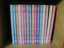 Encyclopédie du LIVRE D'OR POUR GARCONS ET FILLES Complète 16 TOMES 1961