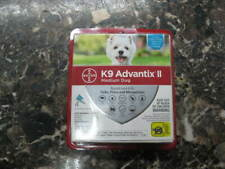 New listing K9 Advantix Ii Flea Medicine Medium Dog 4 Month Supply Pack K-9 11-20 lbs