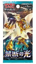 Pokemon Sun Moon Japanese Forbidden Light Booster Pack SM6