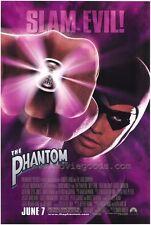 THE PHANTOM Movie POSTER 27x40 Billy Zane Kristy Swanson Treat Williams