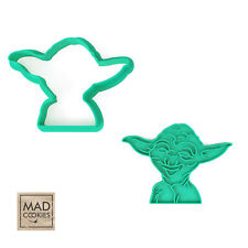 Star Wars - Master Yoda cookie cutter - 1pcs - Plastic 3d printed (PLA)