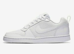 Ladies Girls Boys Nike Court Triple White Air Force Style Trainers UK Size 6.5