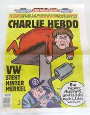 Charlie Hebdo Zeitung 1271  DEUTSCH  Ausgabe 1271 vom 01.12.2016 - Merkel und VW