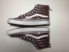 Used VANS Hi Tops multi sparkle mens 7.5 womens 9 Euro 40.0 skate BMX shoes high