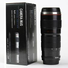 New Camera Lens Shaped Cups EF 70-200mm Drink Photography Thermos Coffee Mugs